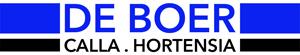 De Boer – Calla en Hortensia Sticky Logo