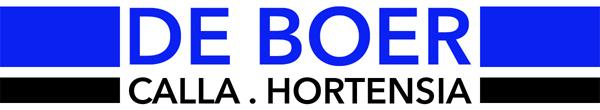 De Boer – Calla en Hortensia Logo